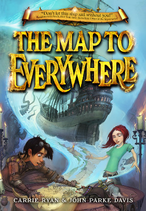THE MAP TO EVERYWHERE paperback cover