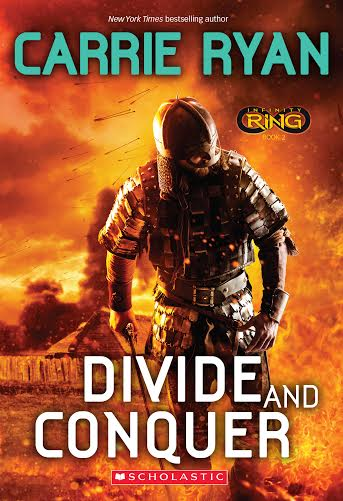 INFINITY RING: DIVIDE AND CONQUER paperback cover